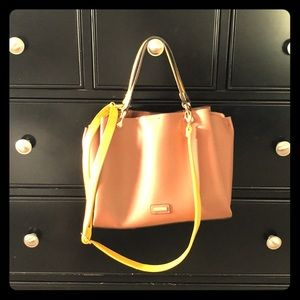 ALDO Leather Bucket Bag
